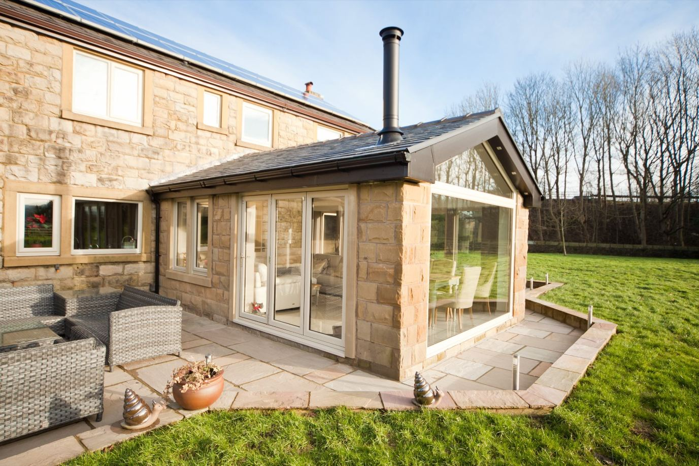 Tiled Conservatory Roofs Dundee