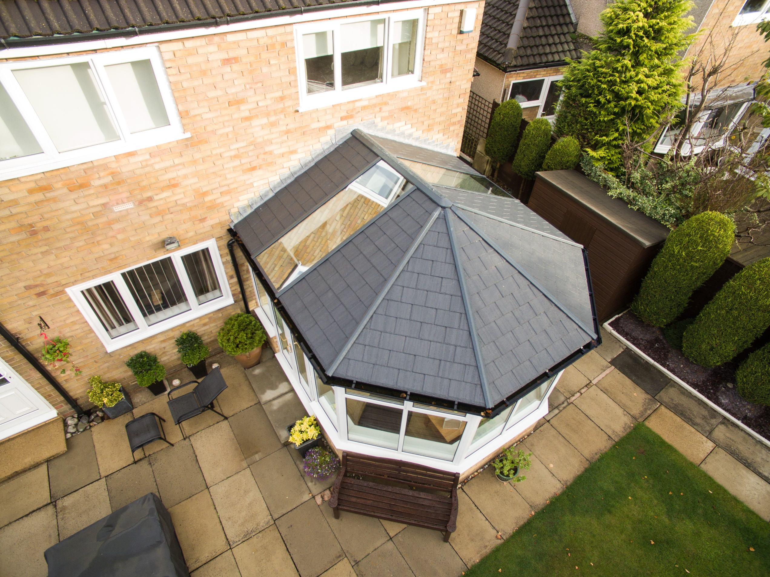 Tiled Conservatory Roofs Fife